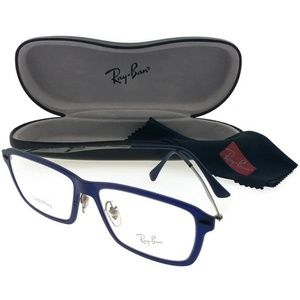 Ray-ban RX7038-5451-53 Men's Blue Frame Eyeglasses
